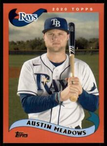 2020-Archives-Base-Red-214-Austin-Meadows-75-Tampa-Bay-Rays