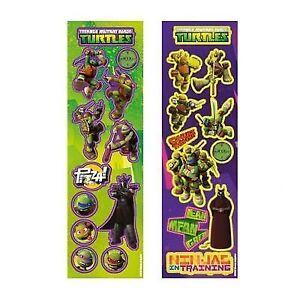 Das Bild Wird Geladen Ninja Turtles Sticker Aufkleber Kindergeburtstag  Mitgebsel Gastgeschenke Party