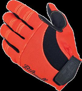 BILTWELL Moto Gloves XS Orange/Black/Yellow 1501-0607-001