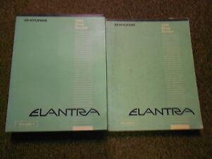 1995 HYUNDAI ELANTRA Service Repair Shop Manual SET FACTORY OEM BOOK 95 Elantra