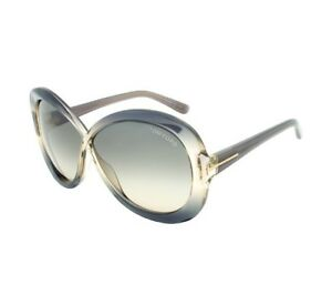 c64e945d85114 Image is loading TOM-FORD-MARGOT-TF226-20B-Butterfly-Sunglasses-Transparent-