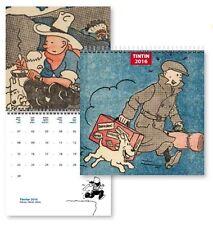 TINTIN MOULINSART HERGE 24340 Small Calendar 2016 15 x 15 cm