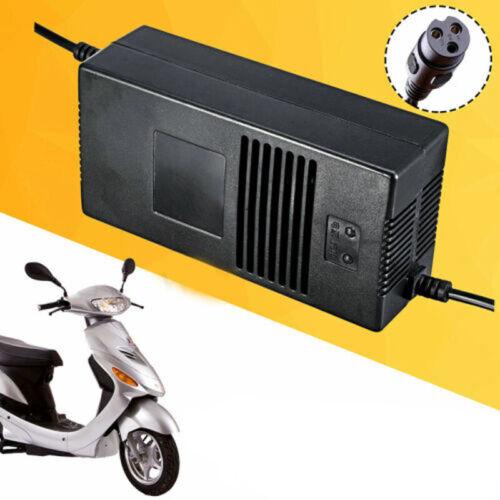 48V Batterie Akku Ladegerät Adapter Für Elektro E-Scooter Bike Roller