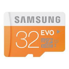 Samsung Evo 32 GB MicroSDHC Class 10 48-MB/s Memory Card