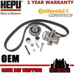Audi-2-0T-FSI-A3-A4-TT-BPY-BWT-Timing-belt-kit-Metal-Water-pump-2006-2009-OEM