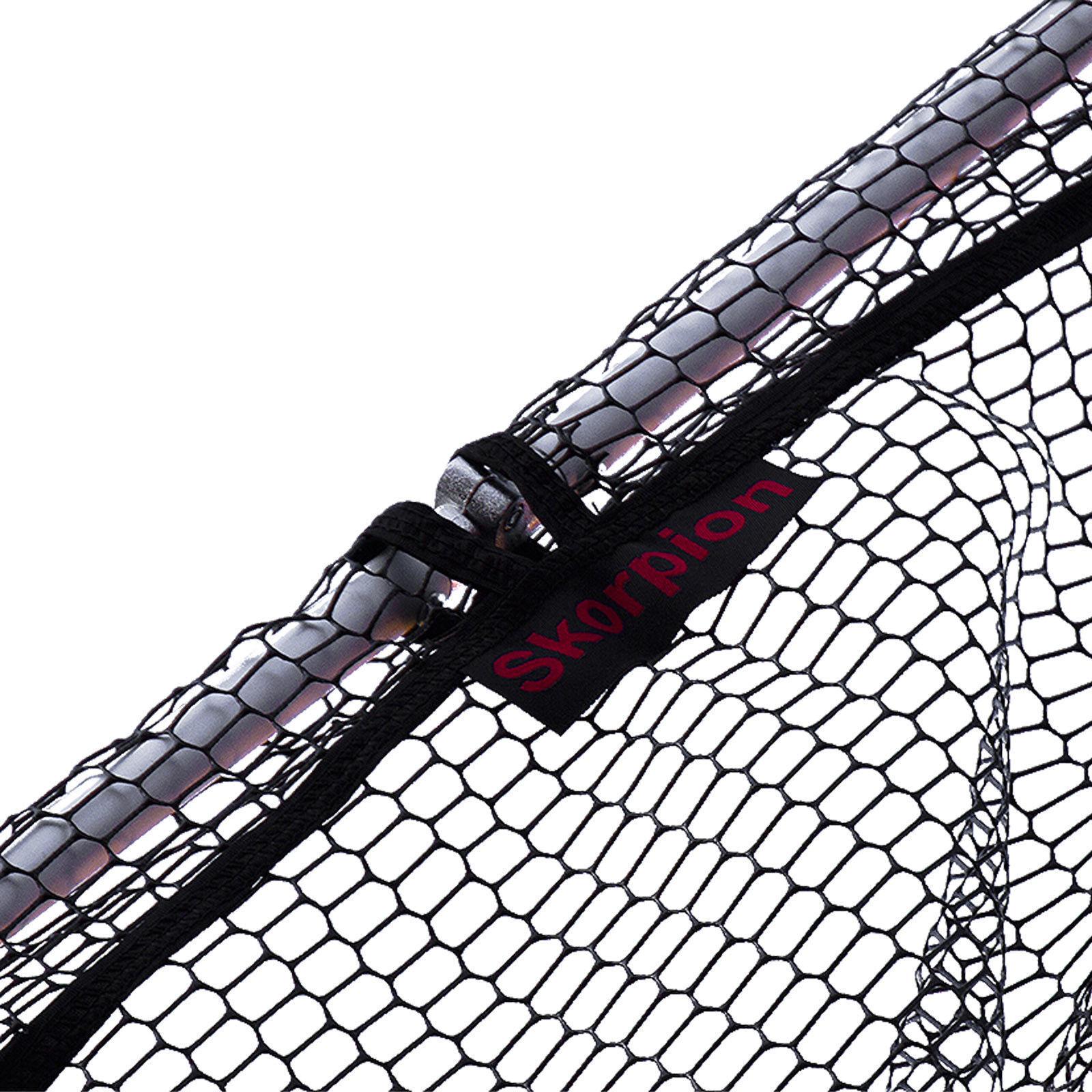 SUPER STABILE Sotto Pesca Guadino 260cm testa pieghevole in in in metallo rivestimento in gomma guadino rete 93aaac