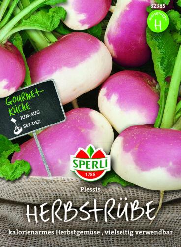 stielmus Autunno va prorogato /'Plessis/' f1-Brassica rapa circa 250 semi rübchen 82385