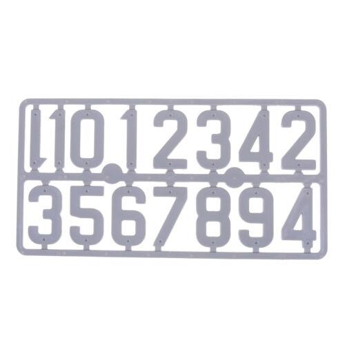 Bienenstock Plastikkartennummer Zeichenrahmen Markierungstafel Imkerei YE
