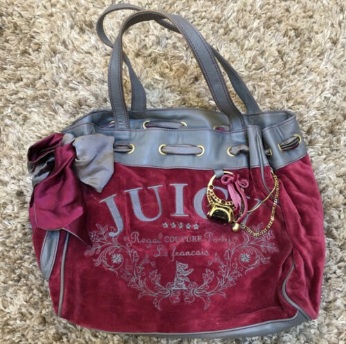 Juicy Couture Velour daydreamer handbag