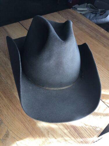 Vtg Resistol Pecos Felt Western Cowboy Hat Mens 7-