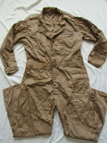 Vtg 50s Coverall Co HBT Work Suit WTOP TV Patch Wa