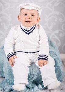 0552dbbdc Baby Boy Christening Baptism Formal Smart Suit Outfit Jumper Wedding ...