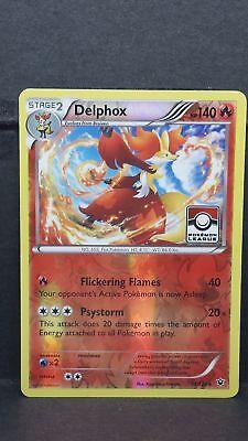 Near Mint League Promo Reverse Foil Pokemon Card Delphox