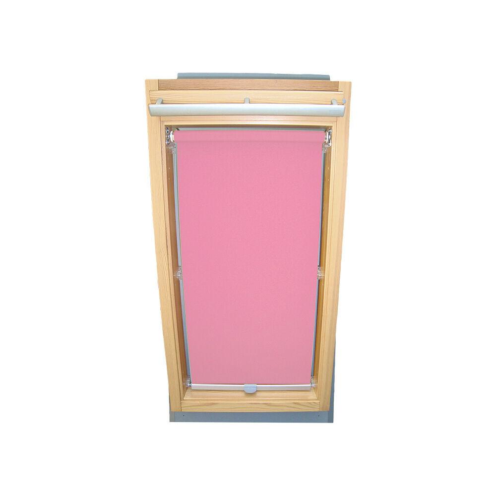 Dachfensterrollo Sichtschutzrollo Rollo für Fakro FTP PTP PTP PTP FPP - Rosa 444012