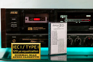Calibration-Cassette-Tape-for-Audio-Speed-BIAS-Wow-Flutter-Azimuth-Test-23-tones