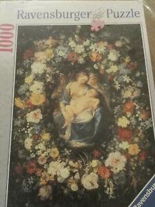 Puzzle 1000: Madonna Della Ghirlanda - Rareté de Brueghel Ravensburger