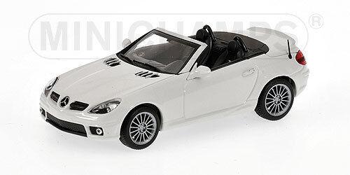 Mercedes Benz SLK AMG R171 bianca 400033170  Minichamps