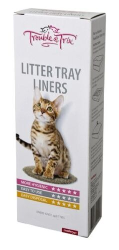 Cat litter tray pan box Liner Large liners 1 pack of 15 Liners