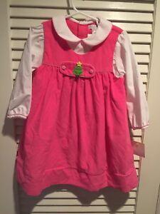 Petit-Ami-Pink-Cord-Smocked-Tab-Girls-Dress-Boutique-Holiday-Christmas