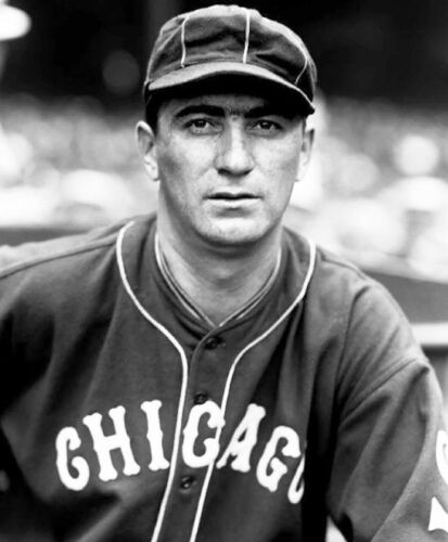 AND WWII SPY!! PORTRAIT OF CATCHER MOE BERG 8x10 WHITE SOX