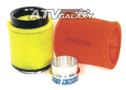 TRX450R 04-05 Pro Design Pro Flow Foam Air Filter Intake Kit Honda TRX400EX