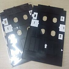 2 PCS PVC ID Card Tray for Epson L800, L805, L810 & L850 Printer + 10 Cards