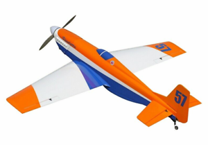 Details about Vendetta (Orange/White) 56 5 in / 1435mm w / Electric  Retracts RC Plane ARF KIT