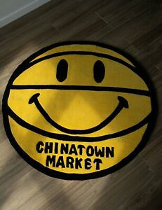Chinatown Market Smiley Basketball Rug 4ft Preorder