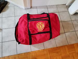 Used-Firefighter-Turnout-Bunker-gear-Bag-Need-repair