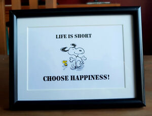 Life-is-Short-Choose-Happiness-Framed-Snoopy-amp-Woodstock