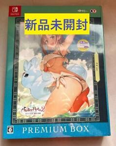 New Nintendo Switch Atelier Ryza 2 Lost Legends & the Secret Fairy Premium Box