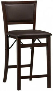 Triena Counter Stool Seat Chair Kitchen 24 Inch Espresso