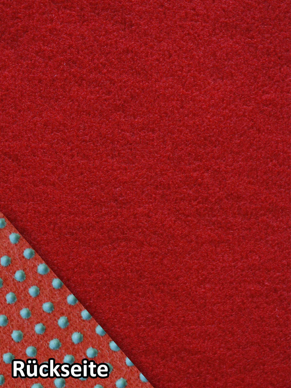 Rasenteppich Kunstrasen Standard+ rot 200x690 cm