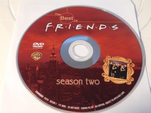 1 of 1 - The Best of Friends: Season 2 (DVD, 2003)Disc Only Free Shipping