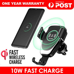 Qi-Wireless-Fast-Charger-Car-Holder-Gravity-Mount-For-iPhone-X-Xs-Max-S9-Note-9