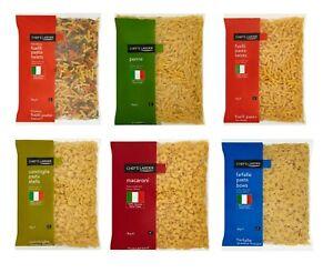 Chef-039-s-DISPENSA-CONCHIGLIE-PASTA-CONCHIGLIE-Farfalle-Pasta-Fiocchi-fusilli-pasta-colpi-di-scena