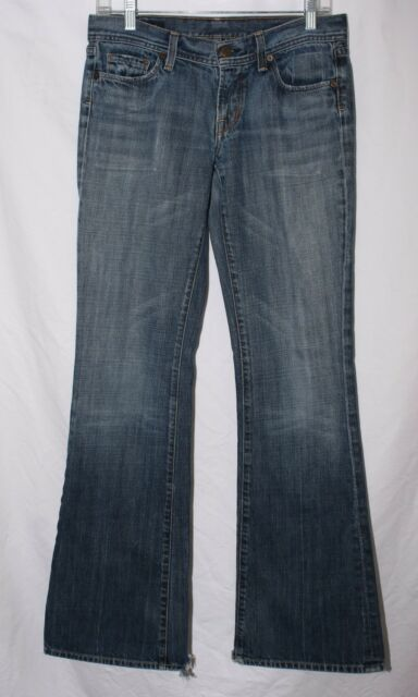 Citizens Of Humanity Womens Jeans Size 28 Ingrid #002 Low Waist Flair Leg