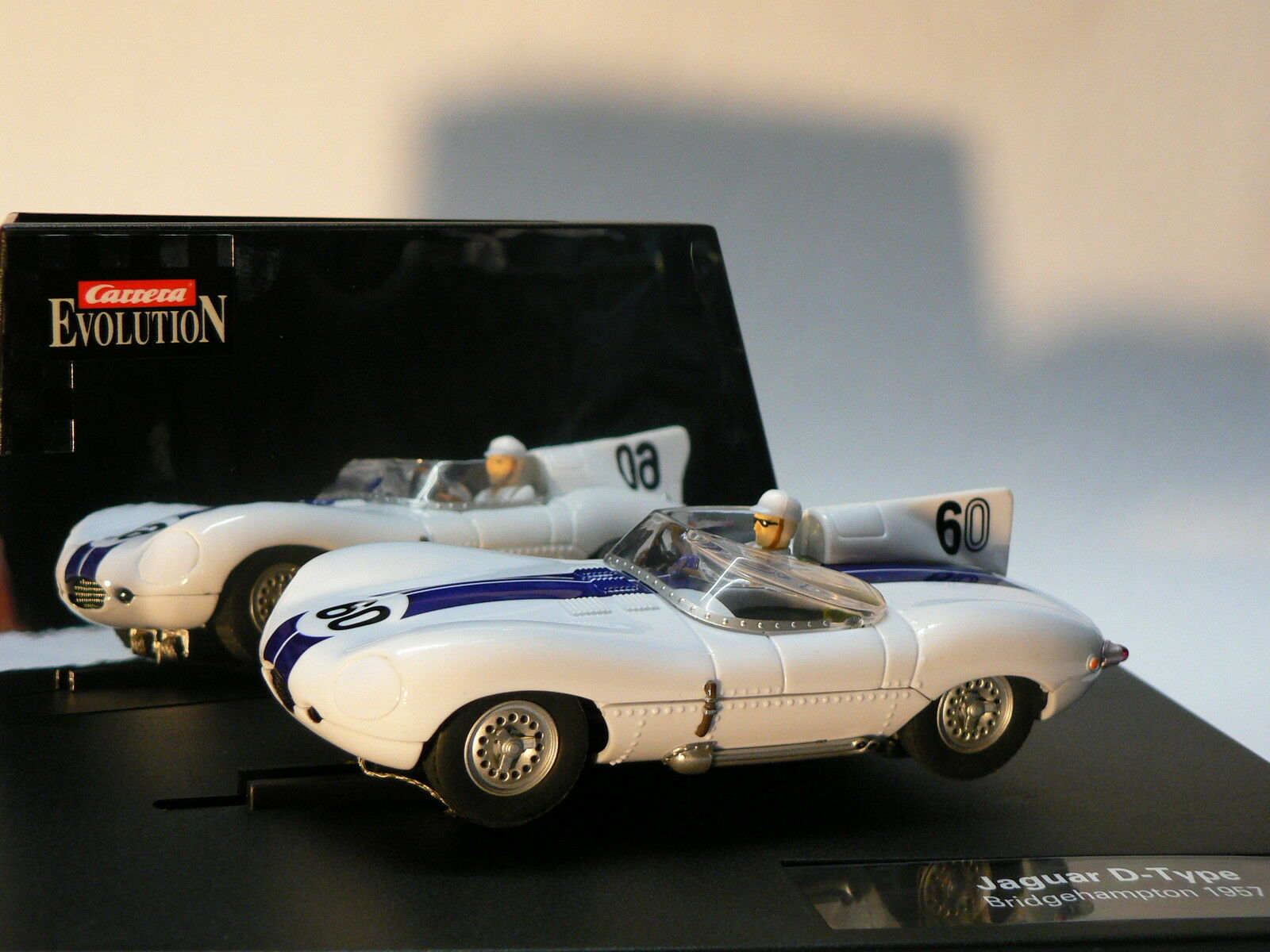 Carrera Evolution 25786 JAGUAR TIPO D 1957 LIMITED EDITION NUOVO