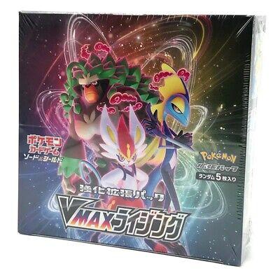 Pokemon Card Sword /& Shield VMAX Rising Booster Box Japan F//S