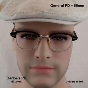 Universal-Optical-UOC-12k-Gold-Fill-True-Antique-Eyeglasses-amp-Leather-Case