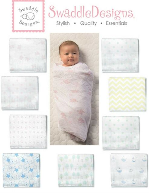 49x49 in. Baby Muslin Swaddle Blankets Large