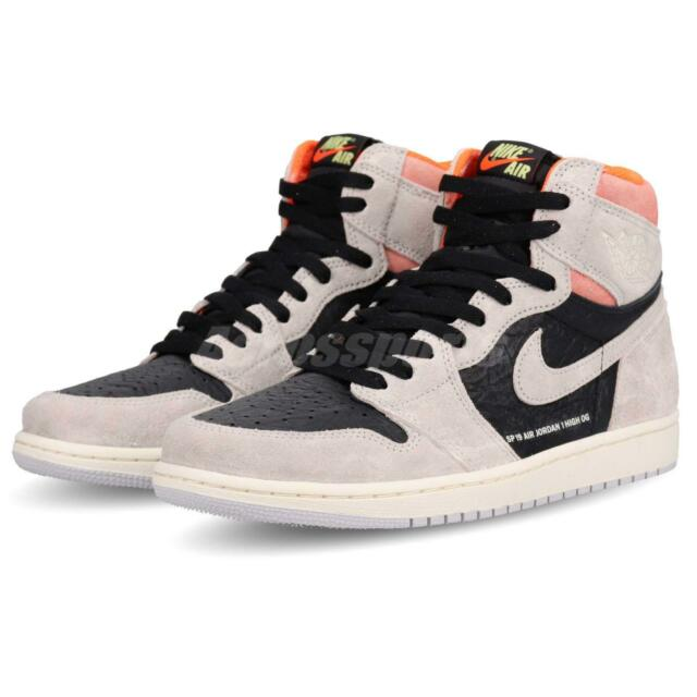 e6c5b2b1296c Nike Air Jordan 1 Retro High OG Neutral Grey Hyper Crimson AJ1 555088-018