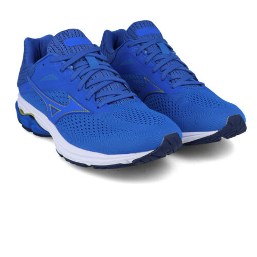 Mizuno Mens Wave Rider 23 Running Shoes Trainers Sneakers Blue Sports