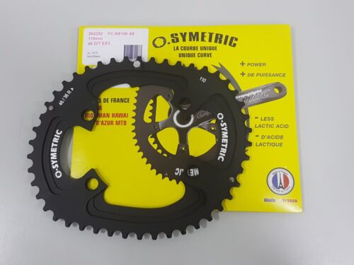 Osymetric BCD110x4 110mm 4Bolt 46T FC-R9100 9100 Bicycle Chainring