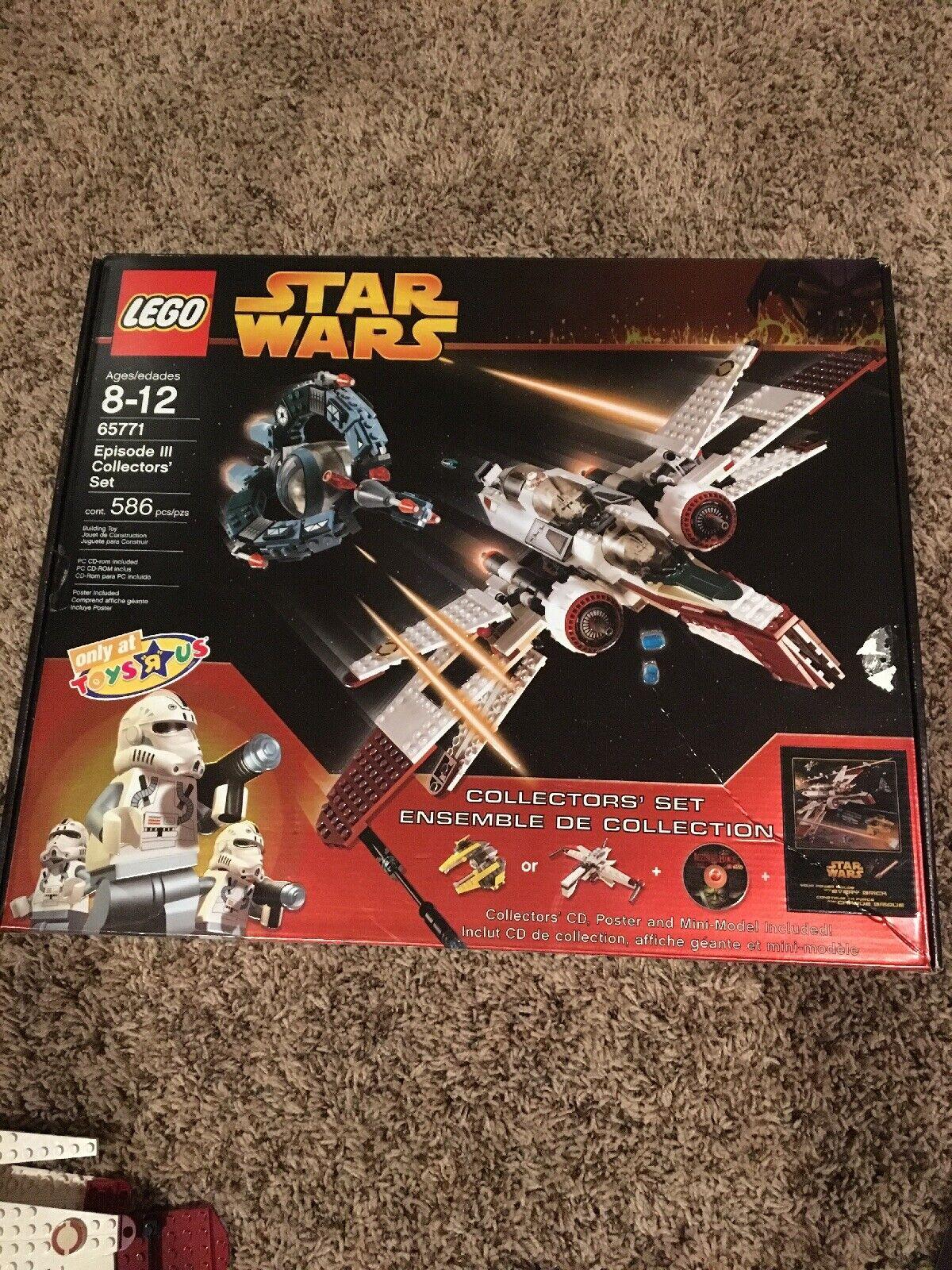 LEGO STAR WARS EPISODE III collectionneurs jeu très bon état avec boite pré-assemblé