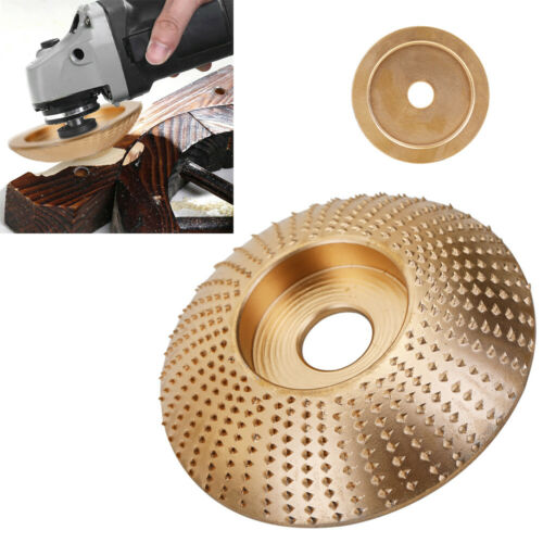 Carbide Wood   Disc For Angle Grinder Grinding Wheel Sanding Carving Shaping