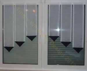 Farbe ausw hlen 6 tlg scheibengardine deko gardine for Fenster 60x90