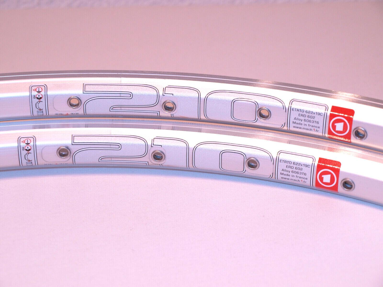 NOS Mach1 210 clincher rims 36H pair