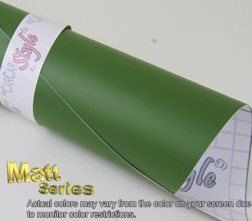 x 200mm 【MATT】Vehicle Wrap Vinyl【100mm 7.9in 】Air//bubble Free Film Sticker 3.9in