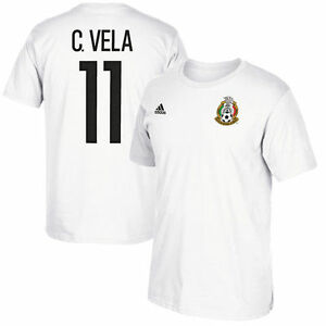 9bfd2ec73 Image is loading adidas-Mexico-Carlos-Vela-2017-Confederation-Hero-Soccer-
